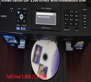 Methods to install the Canon LBP2900 printer driver with the installation disk