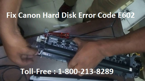 How to Fix Canon Hard Disk Error Code E602