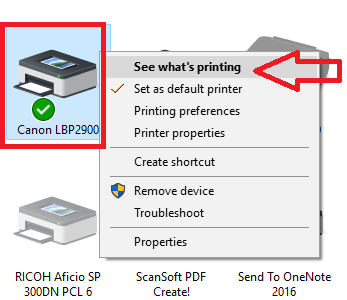 Pausing Issue In Canon Printers