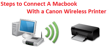 1-800-237-4319 Connect A Macbook With a Canon Wireless Printer