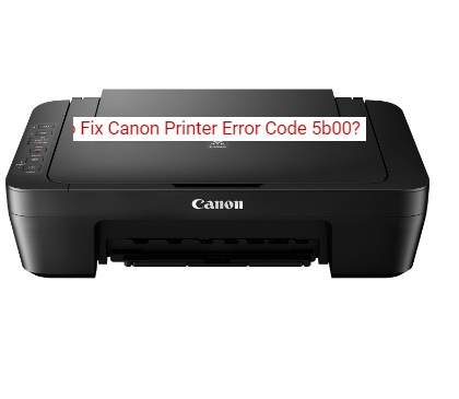 How to Fix Canon Printer Error Code 5b00? Call +1-800-237-4319