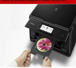 How to Install Canon Printer with CD